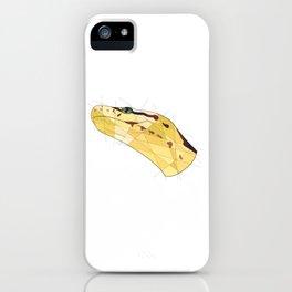 Monty the Ball Python iPhone Case