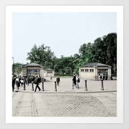 Boston Common, 1900 Art Print