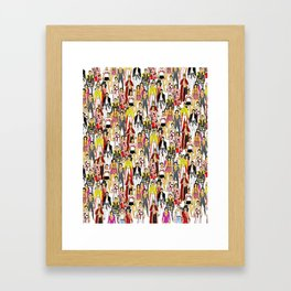 Champion-A-Thon Framed Art Print