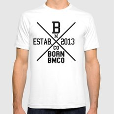 Estab. Mens Fitted Tee White SMALL