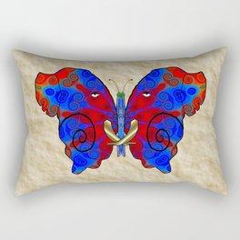 Nautilus Elephant Butterfly Rectangular Pillow