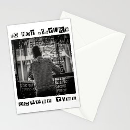DO NOT DISTURB - Coffee Time Stationery Cards