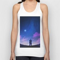 new year Tank Tops featuring New Year, New Us by Smojojo
