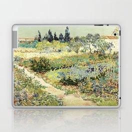 Vincent Van Gogh : Garden at Arles Laptop & iPad Skin