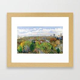 celeb-art-tony-bennett Framed Art Print