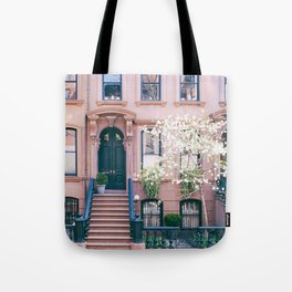 Spring in Greenwich Village - New York Photography Tote Bag