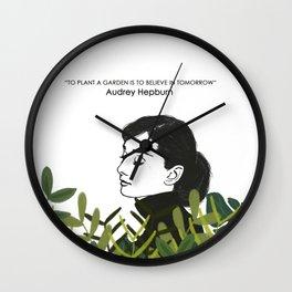 Audrey Hepburn Wall Clock