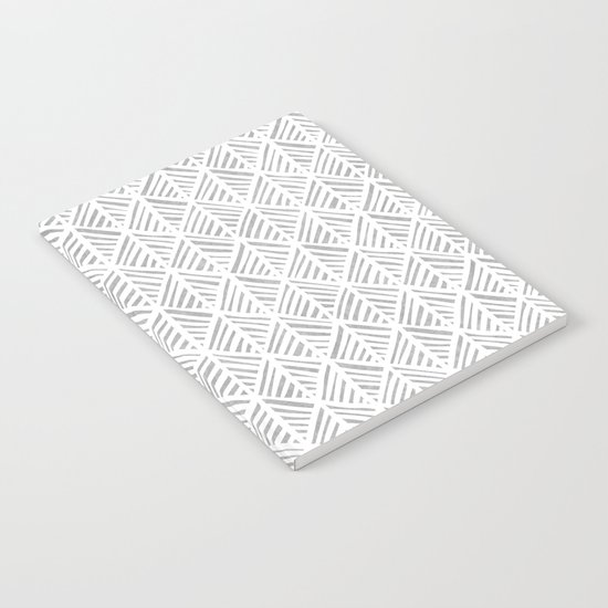Abstract Leaf Pattern in Gray by beckybailey1
