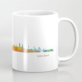 Istanbul City Skyline Hq v1 Coffee Mug