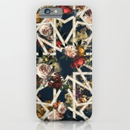 May The Floral Be With You iPhone Case