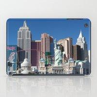 las vegas iPad Cases featuring Las Vegas by Lynn Bolt