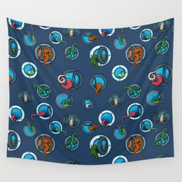 Portholes Wall Tapestry