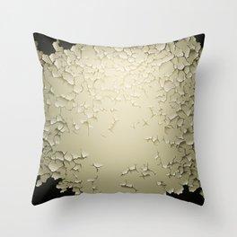 Grunge Vector Background Blank Template Throw Pillow