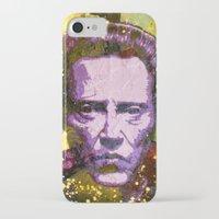 christopher walken iPhone & iPod Cases featuring Christopher Walken by Bobby Zeik