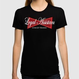 Legal Assitant King of Trades Lawyer T-shirt