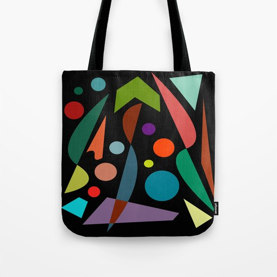 Abstract #306 String Trio Tote Bag