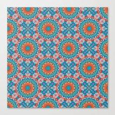 kalei coral Canvas Print
