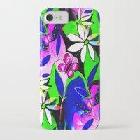 botanical iPhone & iPod Cases featuring Botanical by Sartoris ART