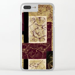 Crackle2 Clear iPhone Case