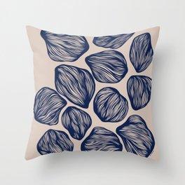 Organic Shapes 1 Throw Pillow