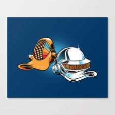 Daft Duck Canvas Print