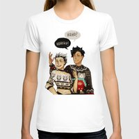 haikyuu T-shirts featuring Hohoho? by rhymewithrachel