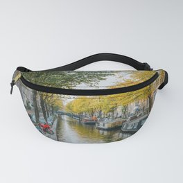 Canal Amsterdam Netherlands Fanny Pack