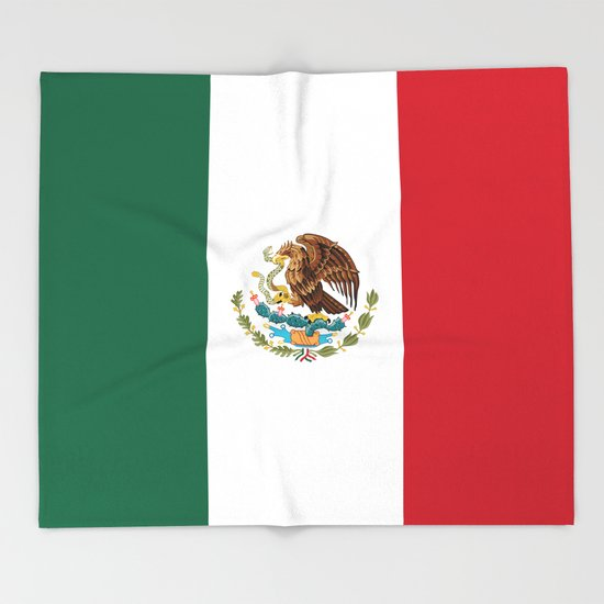Mexican flag of Mexico by brucestanfield