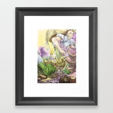 Alice paragraph 94 Framed Art Print