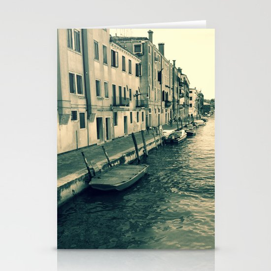 Venezia, where my heart is Stationery Cards