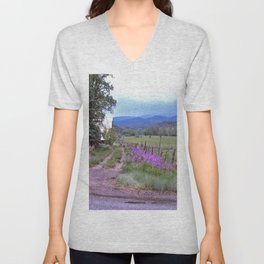 Dames Rocket Ranch by CheyAnne Sexton Unisex V-Neck
