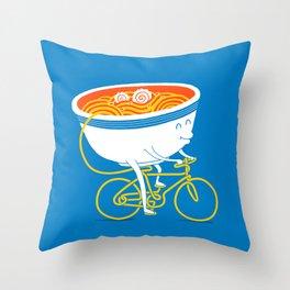 GoGo Ramen Throw Pillow