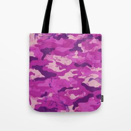 Flower Camouflage Tote Bag