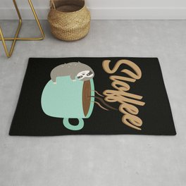 Sloffee | Coffee Sloth Rug