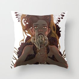 Choke Throw Pillow
