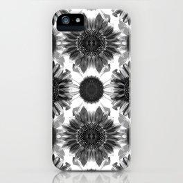 Sunflowers After Dark iPhone Case