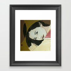 Thank you mahal Framed Art Print