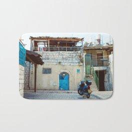 Blue in Safed Bath Mat