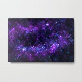 Cosmos - Purple Metal Print