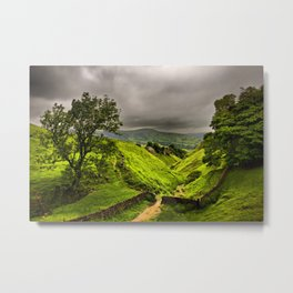 In England's green and pleasant land Metal Print