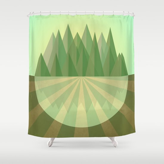 Reach your goals Shower Curtain