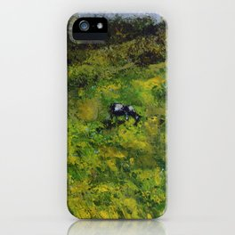 Cows /// by Olga Bartysh iPhone Case
