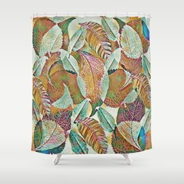 Fall-ing Shower Curtain