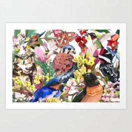GIVE  ME WINGS Art Print
