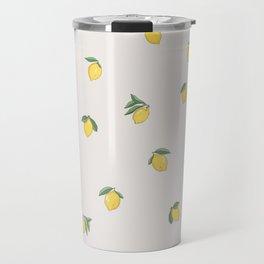 Little Lemons Travel Mug