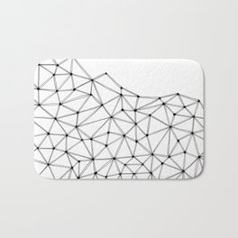 Polygon Bath Mat