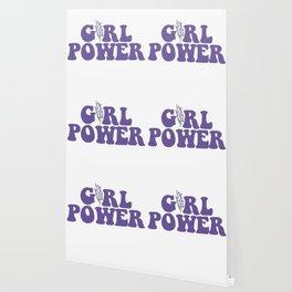 GIRL POWER LAVENDER Wallpaper