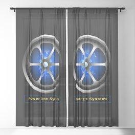 Power core Sheer Curtain