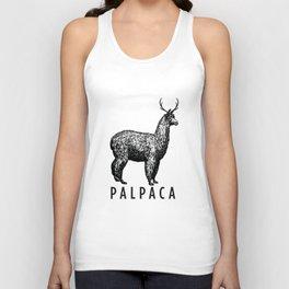 the palpaca Unisex Tank Top