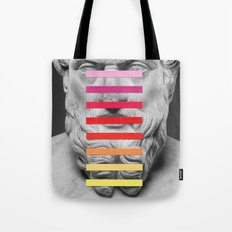 Sculpture With A Spectrum 2 Tote Bag